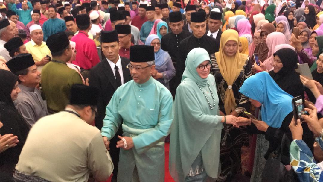 KDYMM Yang Dipertuan Agong Berangkat ke Majlis Tilawah Al-Quran (12)