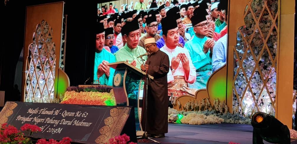KDYMM Yang Dipertuan Agong Berangkat ke Majlis Tilawah Al-Quran (3)