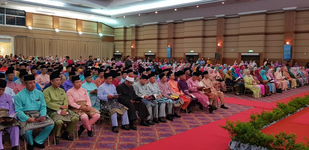 KDYMM Yang Dipertuan Agong Berangkat ke Majlis Tilawah Al-Quran (4)