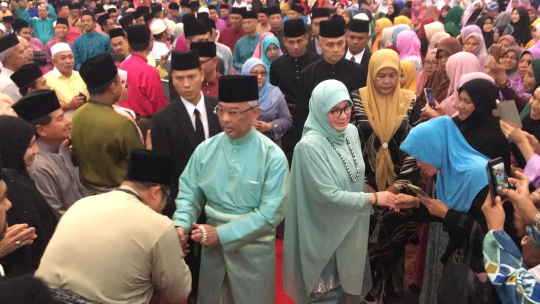 KDYMM Yang Dipertuan Agong Berangkat ke Majlis Tilawah Al-Quran (9)