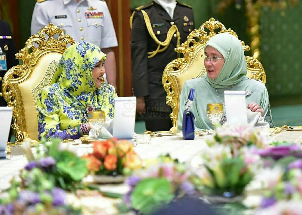 Lawatan SPB Yang Di-Pertuan Agong ke Brunei (10)