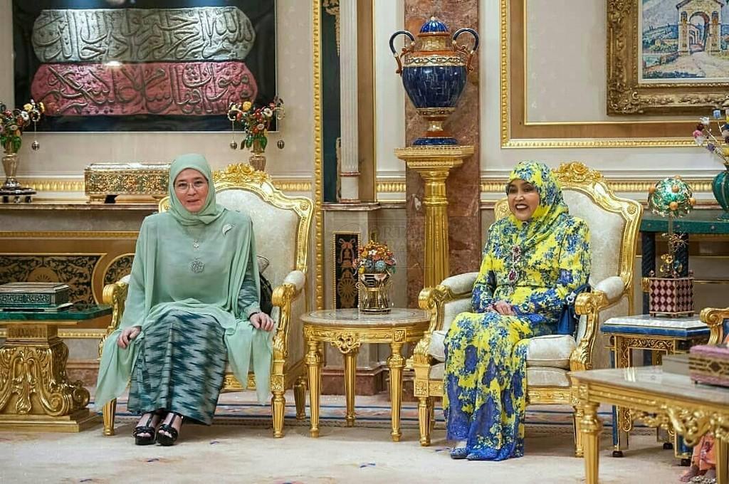 Lawatan SPB Yang Di-Pertuan Agong ke Brunei (12)