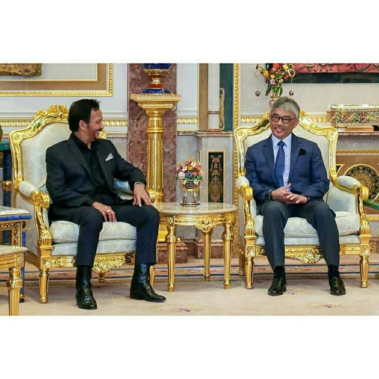 Lawatan SPB Yang Di-Pertuan Agong ke Brunei (13)
