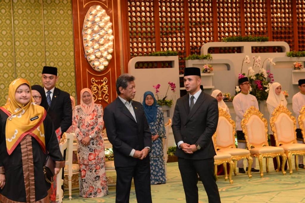 Lawatan SPB Yang Di-Pertuan Agong ke Brunei (17)