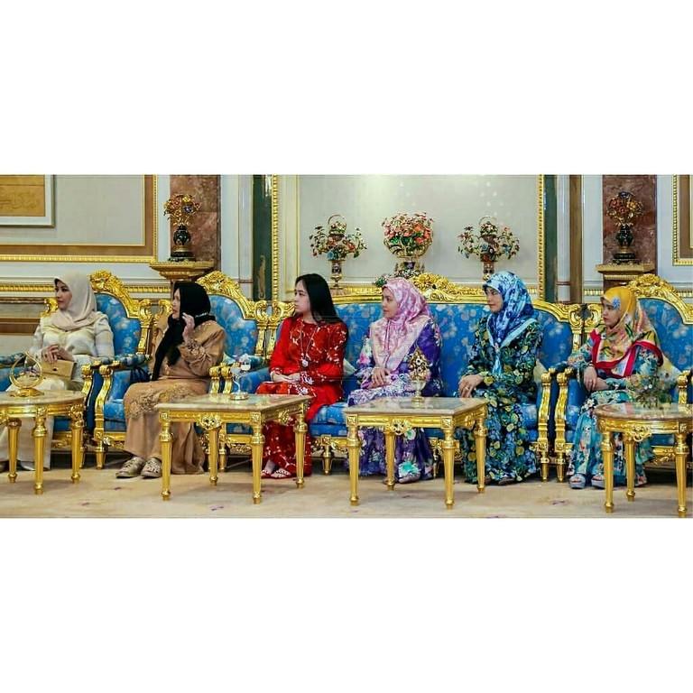 Lawatan SPB Yang Di-Pertuan Agong ke Brunei (2)