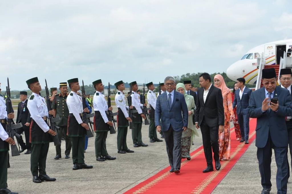 Lawatan SPB Yang Di-Pertuan Agong ke Brunei (3)