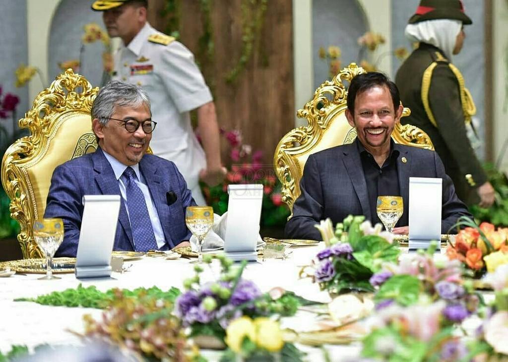 Lawatan SPB Yang Di-Pertuan Agong ke Brunei (5)