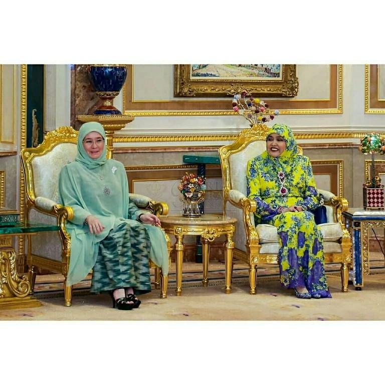 Lawatan SPB Yang Di-Pertuan Agong ke Brunei (7)