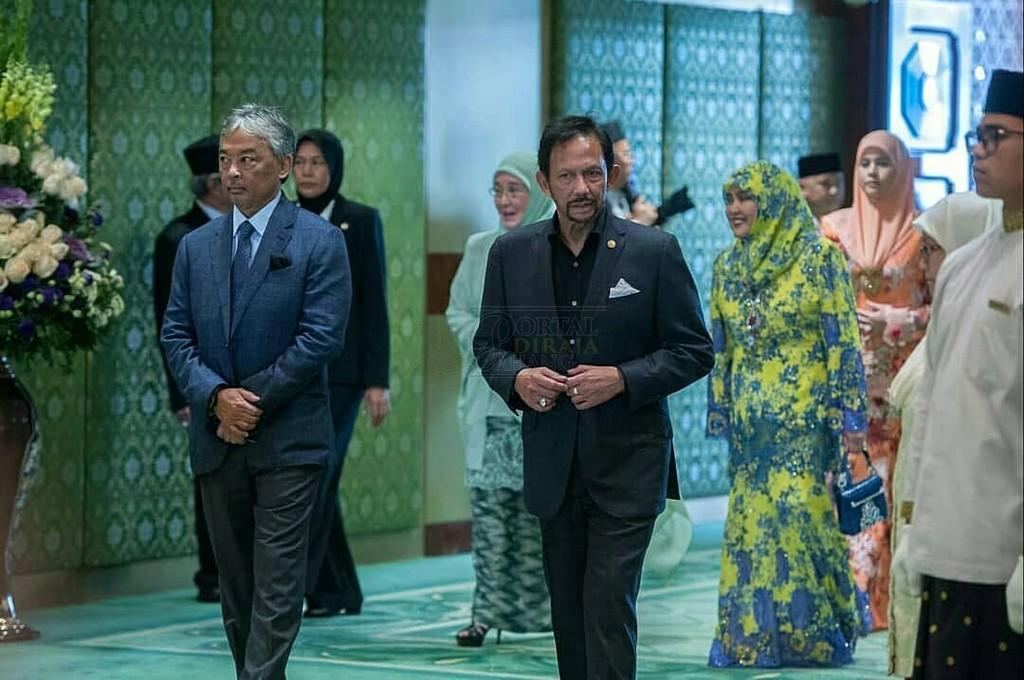 Lawatan SPB Yang Di-Pertuan Agong ke Brunei (8)