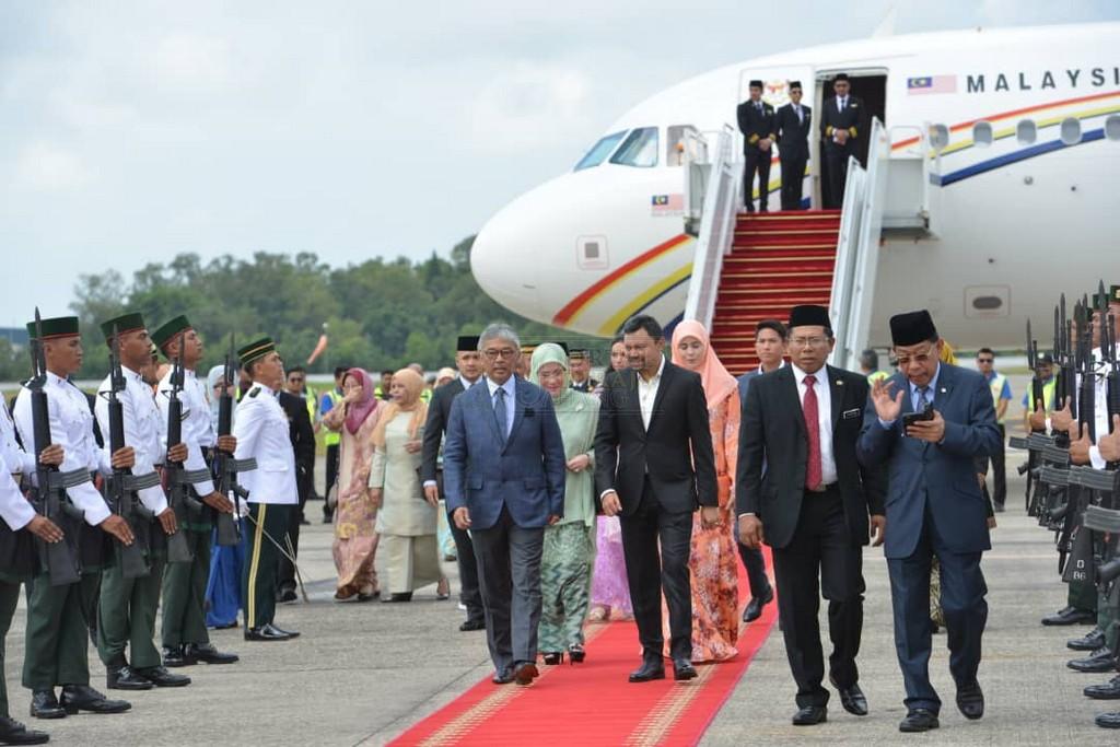 Lawatan SPB Yang Di-Pertuan Agong ke Brunei (9)