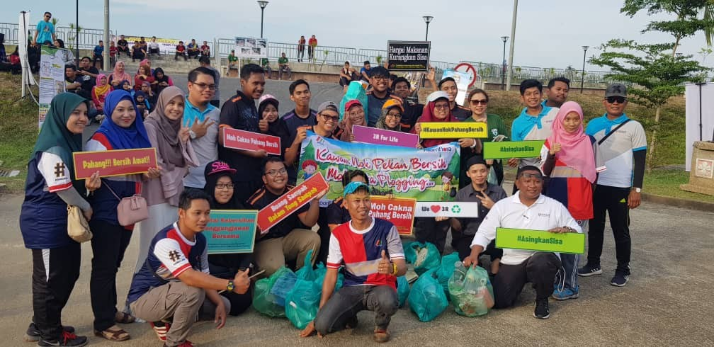 Program Plogging Daerah Pekan (6)