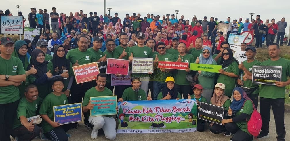 Program Plogging Daerah Pekan (8)
