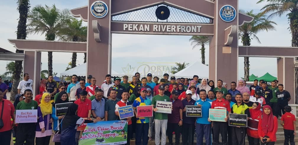Program Plogging Daerah Pekan (9)