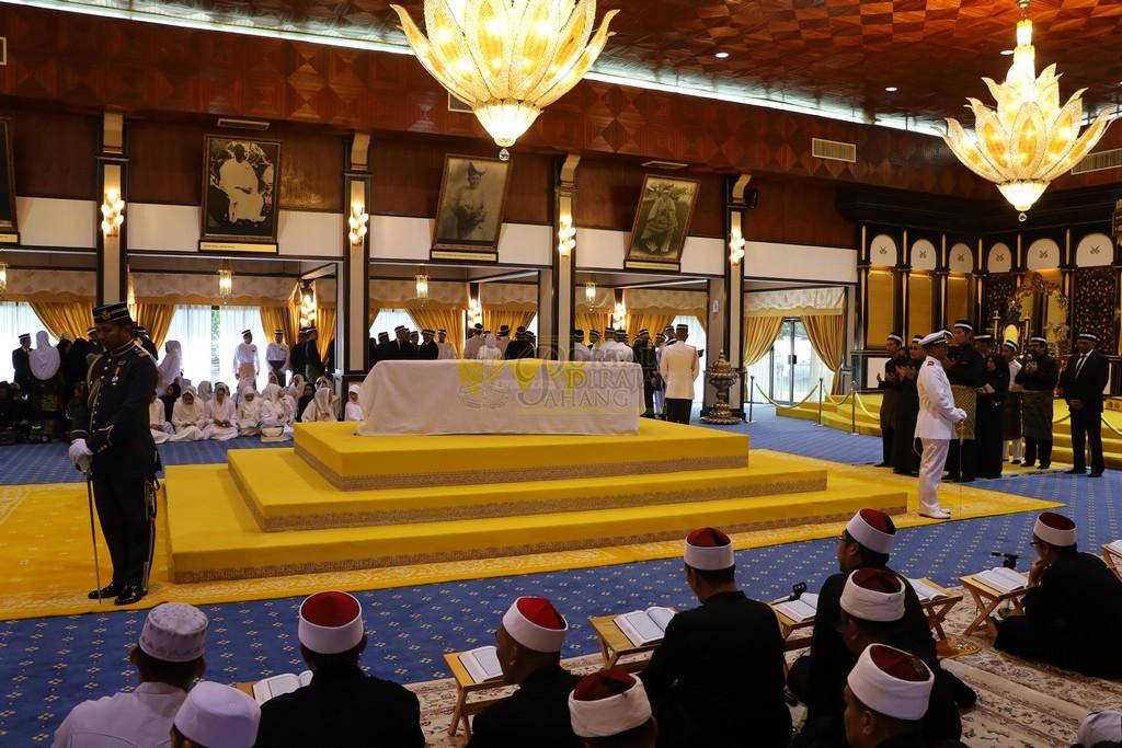 Majlis Istiadat Pemakaman KDYMM Paduka Ayahanda (1)