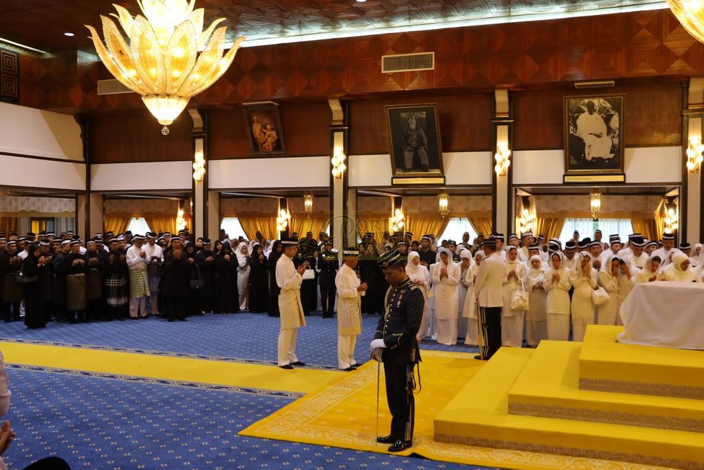 Majlis Istiadat Pemakaman KDYMM Paduka Ayahanda (10)
