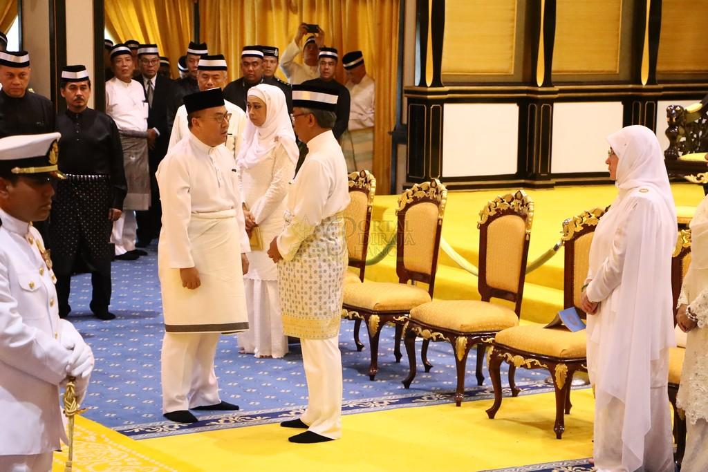 Majlis Istiadat Pemakaman KDYMM Paduka Ayahanda (11)