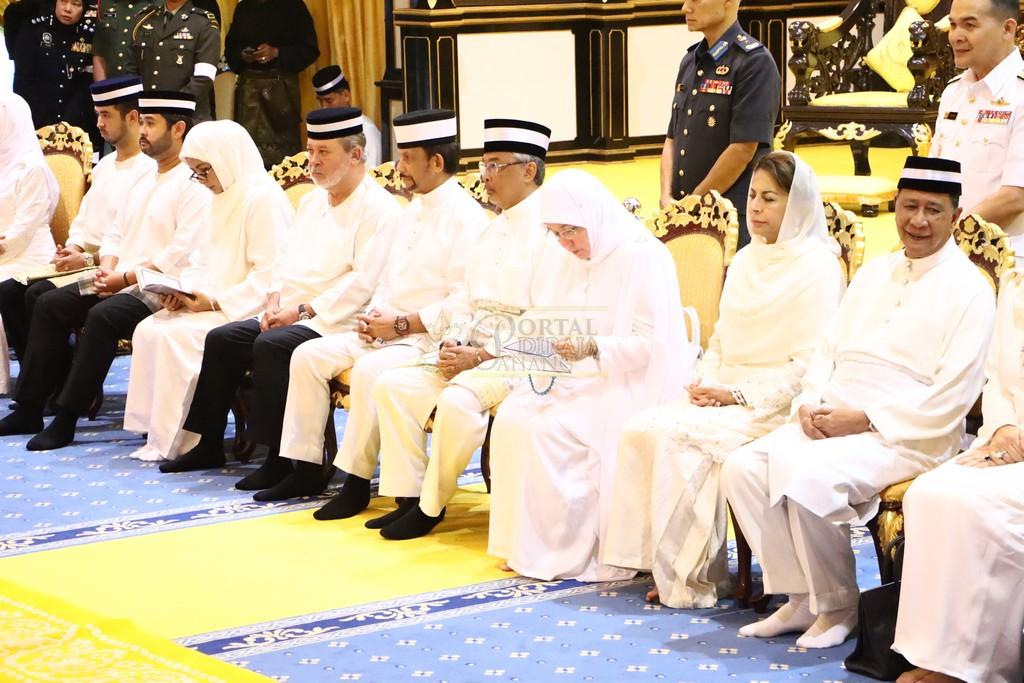 Majlis Istiadat Pemakaman KDYMM Paduka Ayahanda (19)