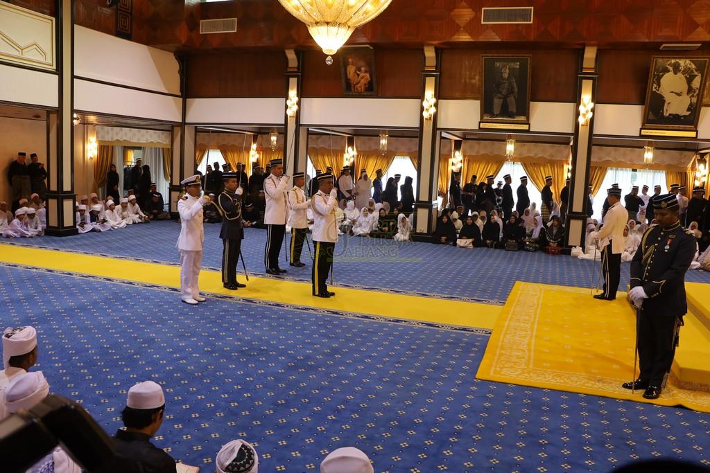 Majlis Istiadat Pemakaman KDYMM Paduka Ayahanda (2)