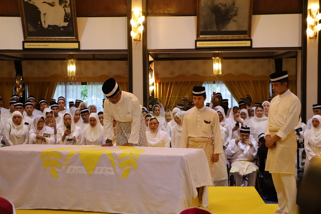 Majlis Istiadat Pemakaman KDYMM Paduka Ayahanda (20)