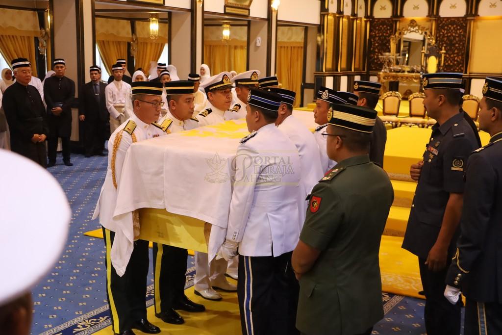 Majlis Istiadat Pemakaman KDYMM Paduka Ayahanda (21)