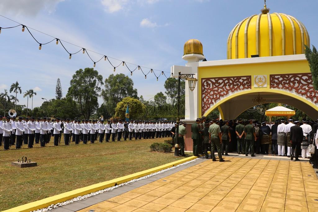 Majlis Istiadat Pemakaman KDYMM Paduka Ayahanda (23)