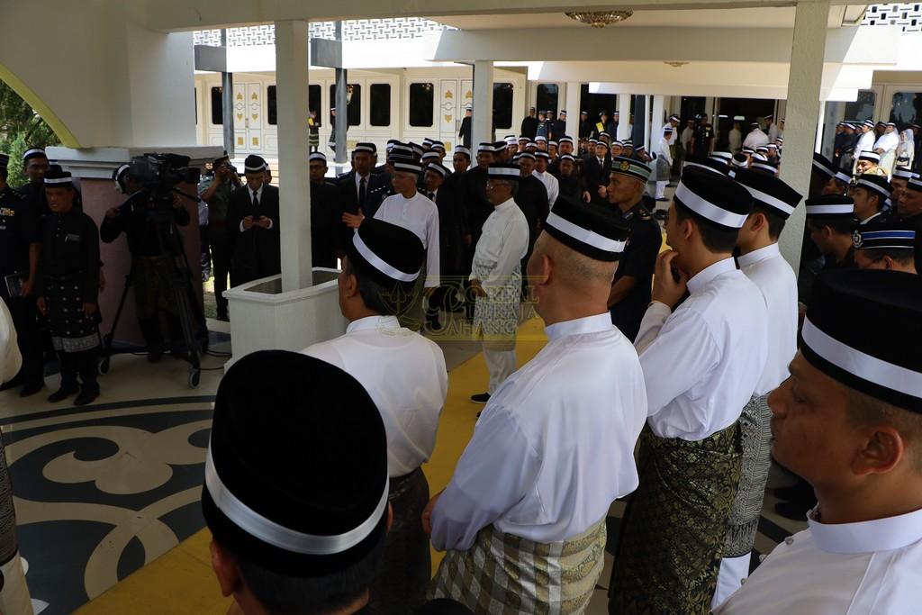 Majlis Istiadat Pemakaman KDYMM Paduka Ayahanda (24)