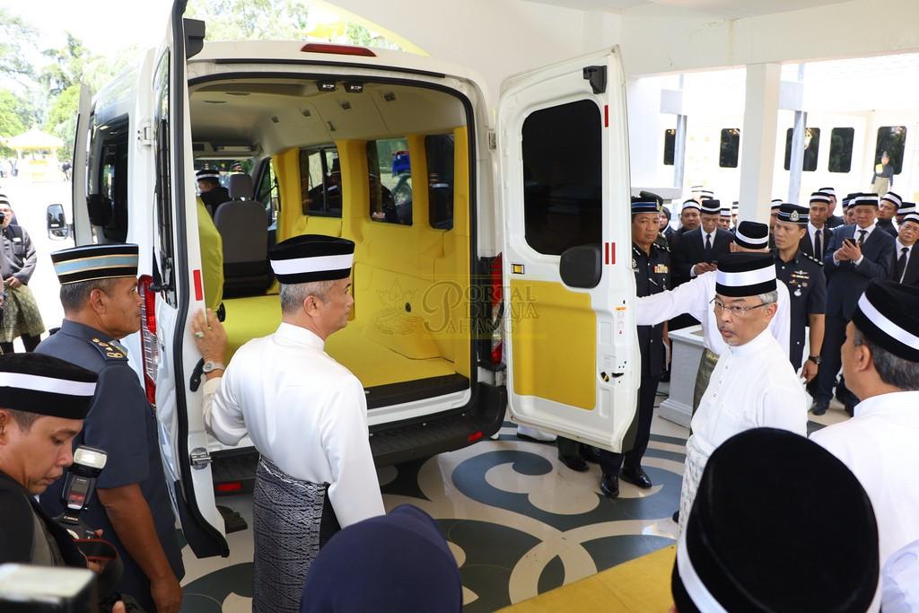 Majlis Istiadat Pemakaman KDYMM Paduka Ayahanda (25)