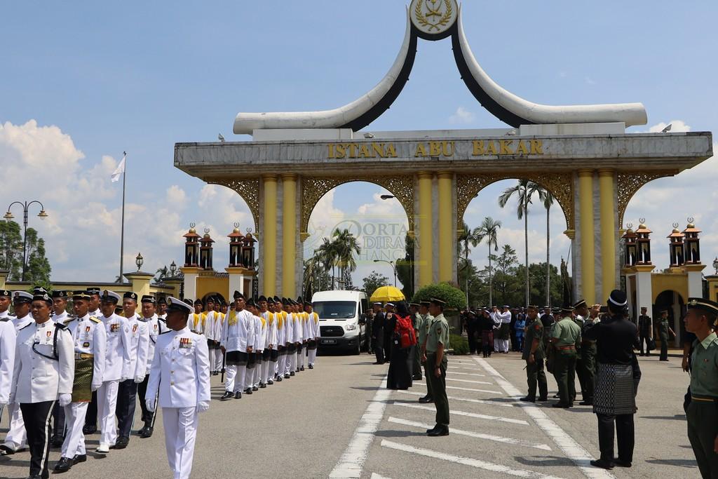 Majlis Istiadat Pemakaman KDYMM Paduka Ayahanda (28)