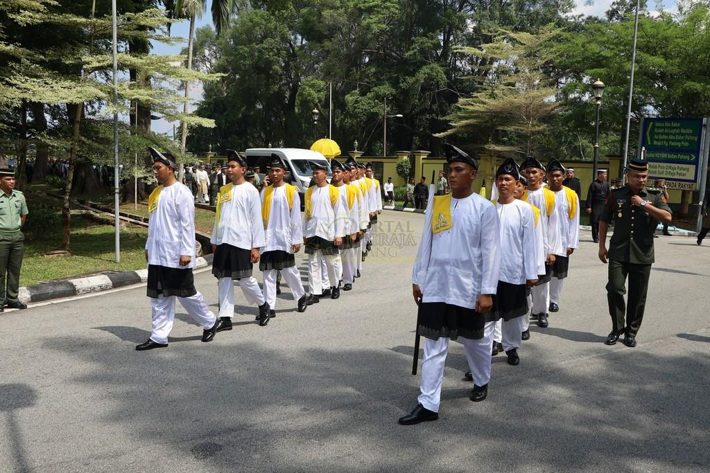 Majlis Istiadat Pemakaman KDYMM Paduka Ayahanda (29)