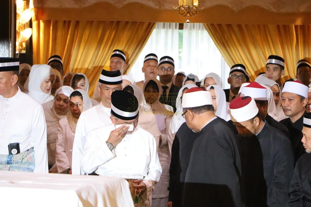 Majlis Istiadat Pemakaman KDYMM Paduka Ayahanda (3)