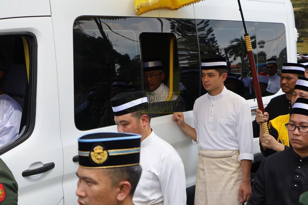 Majlis Istiadat Pemakaman KDYMM Paduka Ayahanda (30)