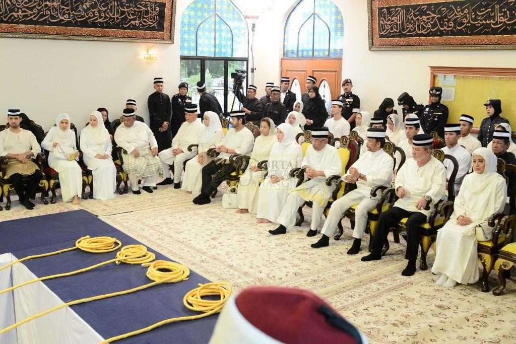 Majlis Istiadat Pemakaman KDYMM Paduka Ayahanda (31)