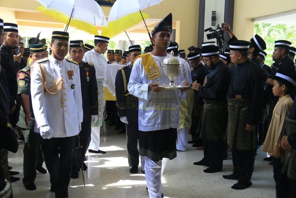Majlis Istiadat Pemakaman KDYMM Paduka Ayahanda (33)