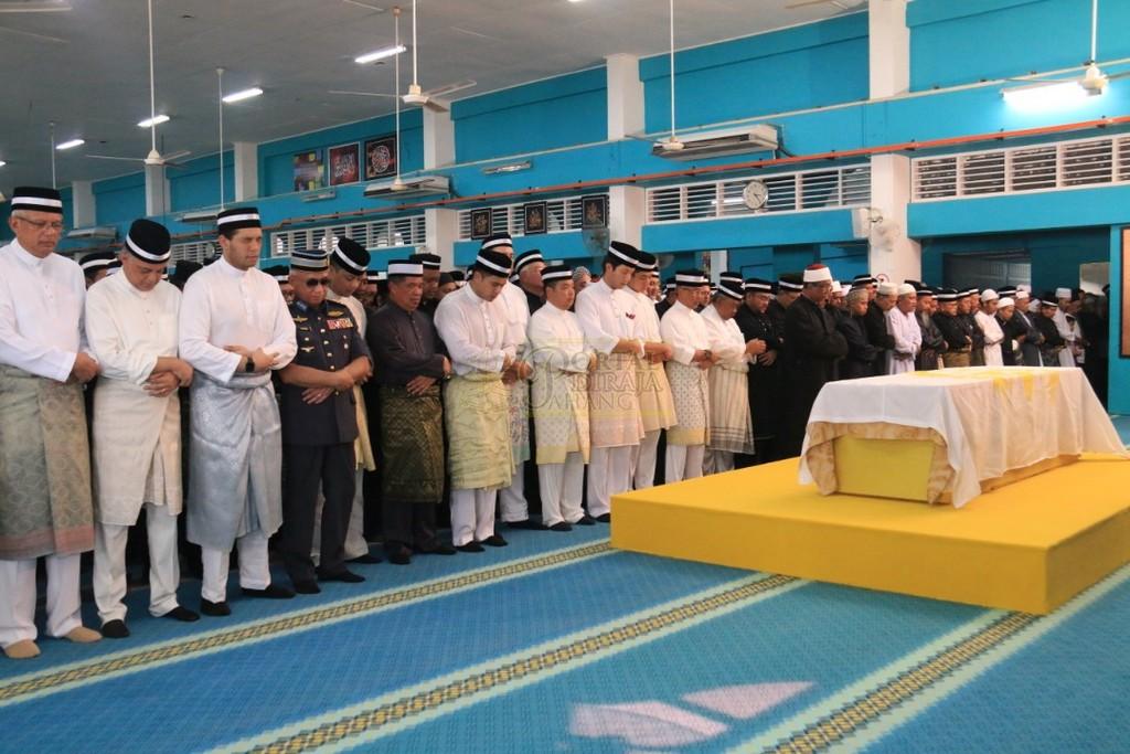 Majlis Istiadat Pemakaman KDYMM Paduka Ayahanda (34)