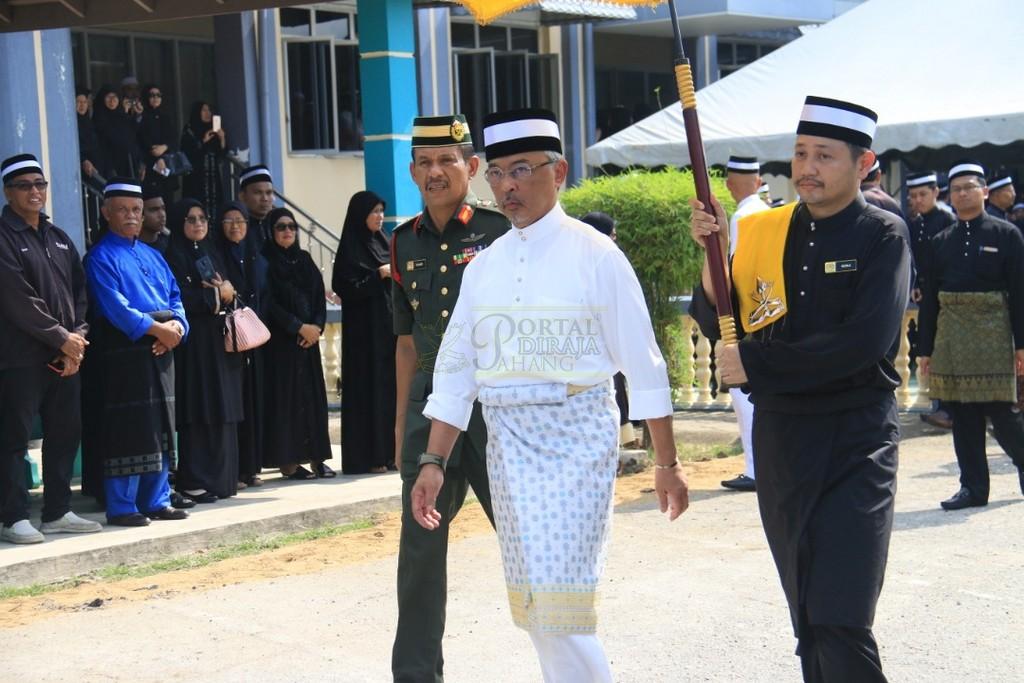 Majlis Istiadat Pemakaman KDYMM Paduka Ayahanda (35)