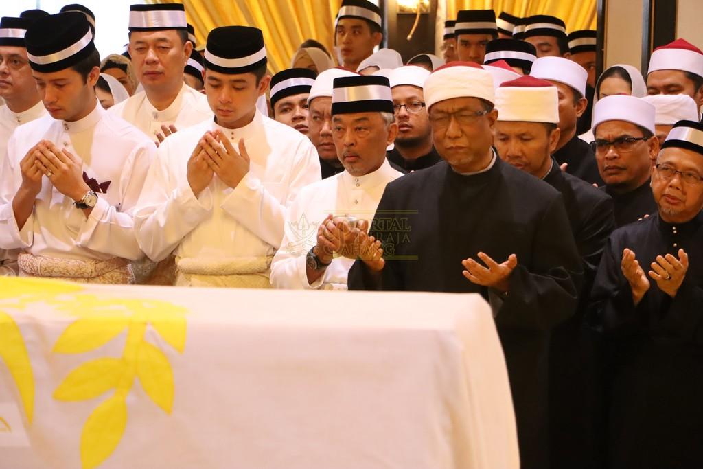 Majlis Istiadat Pemakaman KDYMM Paduka Ayahanda (6)