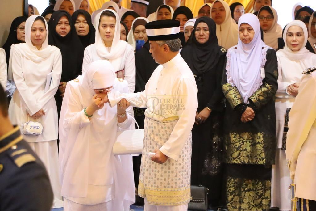 Majlis Istiadat Pemakaman KDYMM Paduka Ayahanda (8)