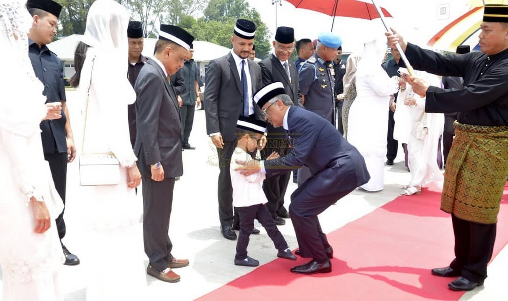 Keberangkatan Pulang Selepas Lawatan Ke Indonesia (12)