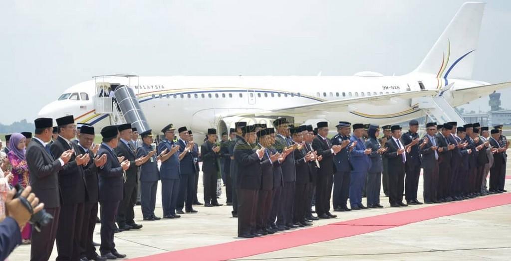 Keberangkatan Pulang Selepas Lawatan Ke Indonesia (23)