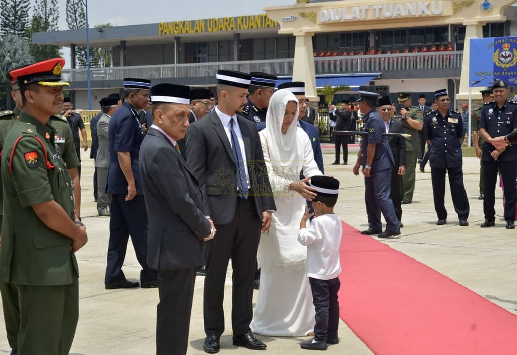 Keberangkatan Pulang Selepas Lawatan Ke Indonesia (5)