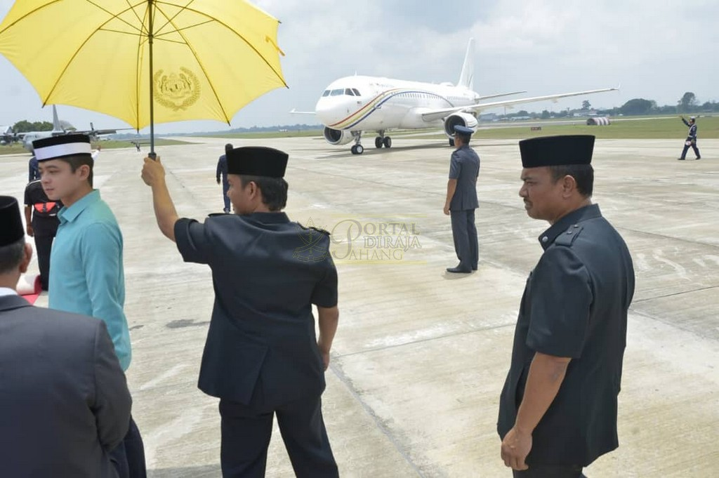 Keberangkatan Pulang Selepas Lawatan Ke Indonesia (8)