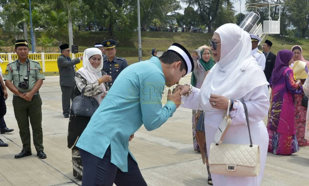 Keberangkatan Pulang Selepas Lawatan Ke Indonesia (9)