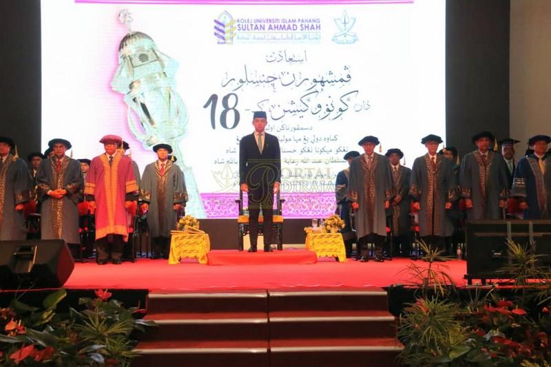 Majlis Konvokesyen KUIPSAS kali ke-18-39