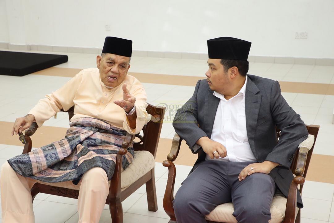 LAWATAN RAMAH MESRA ORANG BESAR SELANGOR KE MAJLIS UGAMA ISLAM PAHANG00025