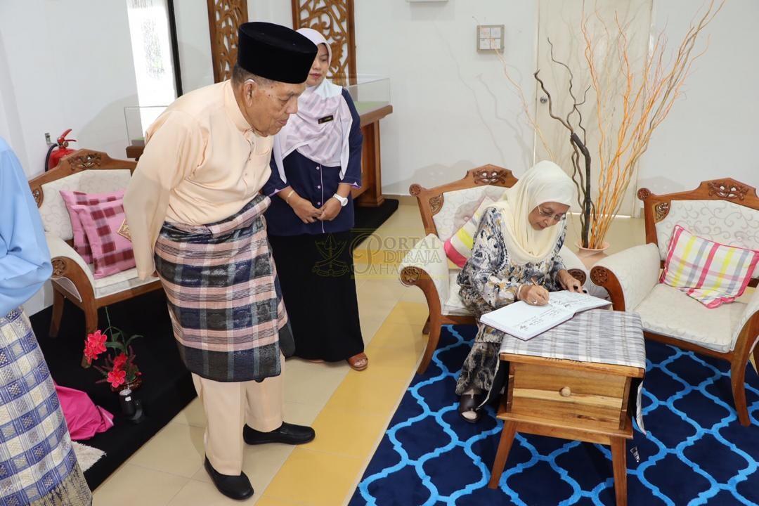 LAWATAN RAMAH MESRA ORANG BESAR SELANGOR KE MAJLIS UGAMA ISLAM PAHANG00026
