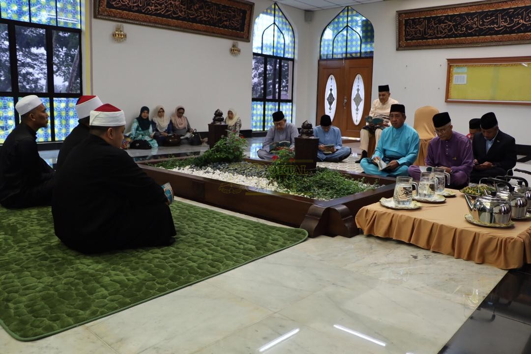 LAWATAN RAMAH MESRA ORANG BESAR SELANGOR KE MAJLIS UGAMA ISLAM PAHANG00033