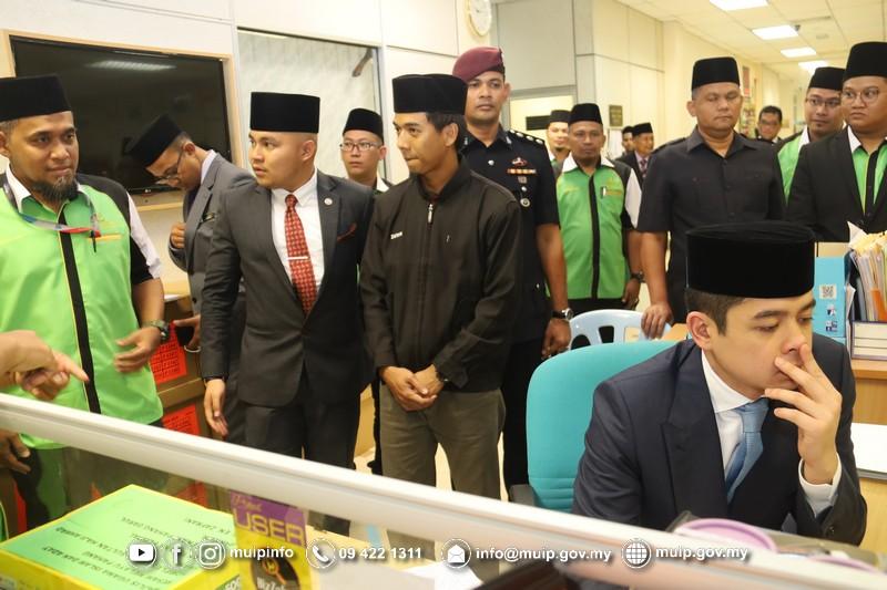 Pemangku Raja Melawat Majlis Ugama Islam Dan Adat Resam Melayu Pahang10