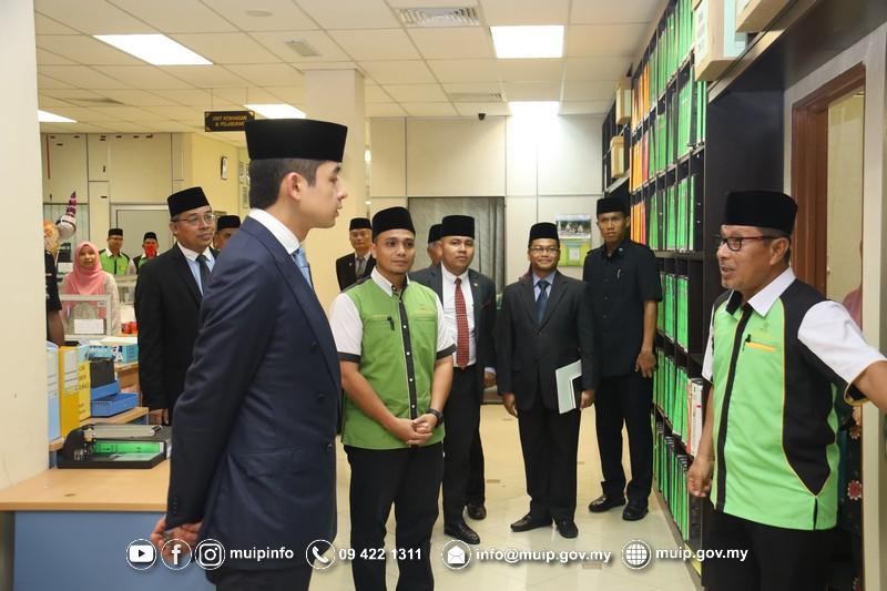 Pemangku Raja Melawat Majlis Ugama Islam Dan Adat Resam Melayu Pahang6
