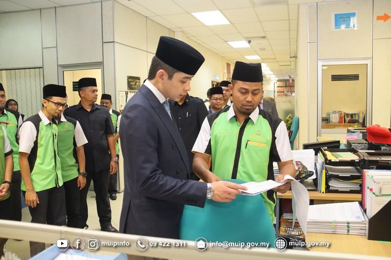 Pemangku Raja Melawat Majlis Ugama Islam Dan Adat Resam Melayu Pahang8