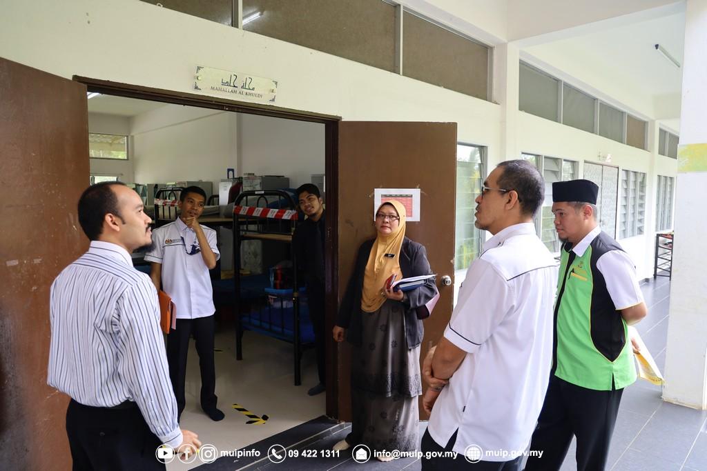 Pemantauan Persediaan Pembukaan Maahad Tahfiz (3)